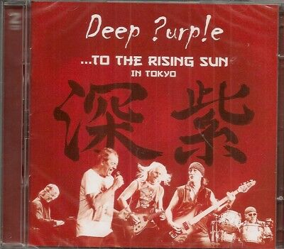 DEEP PURPLE - ...to the rising Sun... Live in Tokyo, Budokan (Doppel-CD)