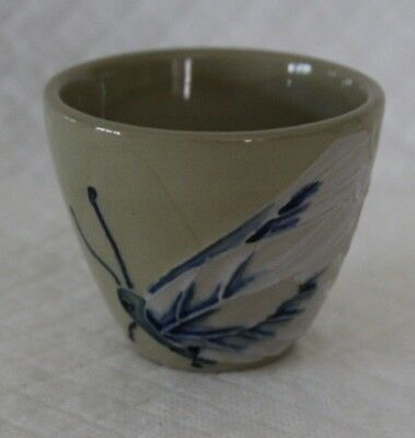 Moorcroft Butterfly Sake or Egg Cup