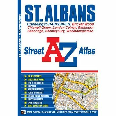 St Albans Street Atlas - Paperback NEW Geographers' A- 2012-03-05