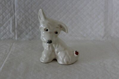 Beswick Terrier Dog with Butterfly on tail
