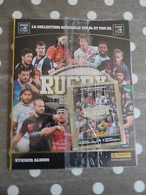 Album Panini Rugby 2017 2018 Vierge+ Stickers Images Top 14 Pro D2 Sous Blister