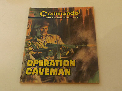 Commando War Comic Number 1468,1980 Issue,good For Age,38 Years Old,very Rare.