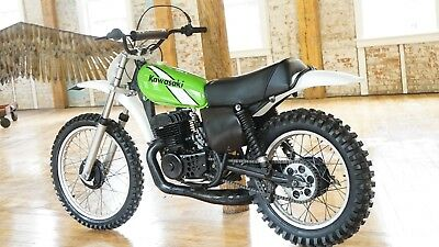 1975 Kawasaki KX  1975 Kawasaki KX400A2 Classic Big Bore, Just partially restored, looks like new!