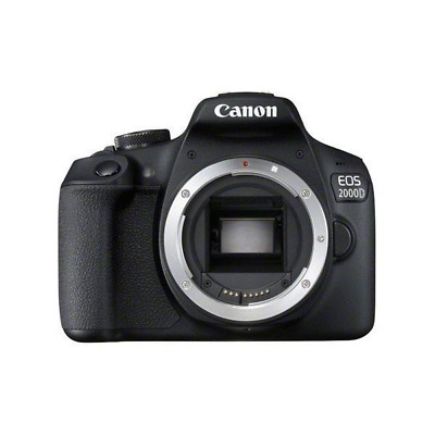 Canon 2728C001 EOS 2000D BODY - SLR Camera - 24.1 MP CMOS - Black Digital