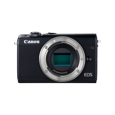 Canon 2209C002 EOS M100 Compact camera 24.2MP CMOS 6000 x 4000pixels Black 3:2