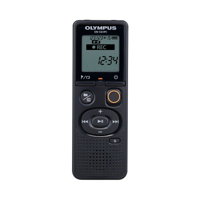 Olympus V405281BE030 VN-541PC Internal memory Black dictaphone Hi/Mid/Lo/Auto -