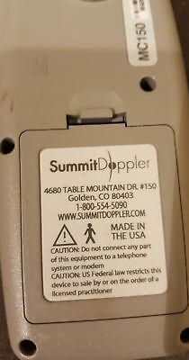 Summit Lifedop 150 Obstrectic Doppler NO PROBE