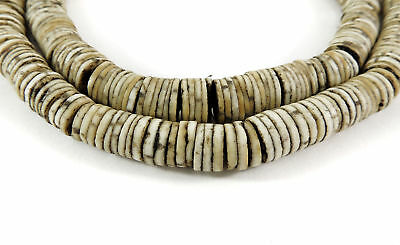 Ostrich Egg Shell Trade Beads Heishi Africa SALE WAS $33.00