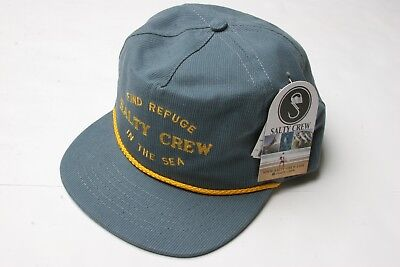 26782418ad340 SALTY CREW BEDFORD 5 Panel Hat (Blue Jean) -  26.00