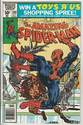 Amazing Spider-Man  # 209  Strict  VF/NM  1st Appearance  Calypso