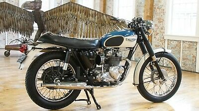 1967 Triumph Daytona  1967 Triumph T100R Tiger Daytona Super Sports, Original Paint & Museum Quality