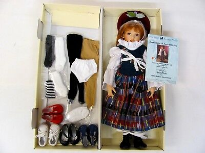 "NEW IN BOX! Helen Kish The Four Seasons FALL 16"" DOLL Plus EXTRA SHOES SOCKS++"