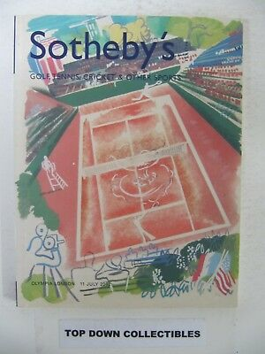 Sotheby's Golf,Tennis, Cricket & Other Sports Antique Items Olympia, London 2002