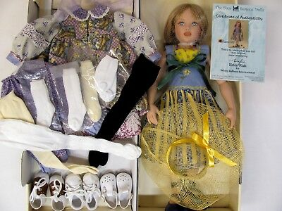 "NEW IN BOX! Helen Kish The Four Seasons SUMMER 16"" DOLL Plus EXTRA SHOES DRESS++"