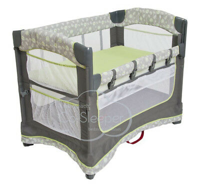 Arm's Reach Ideal Ezee 3 in 1 Baby Co-Sleeper Bedside Bassinet Dandelion NEW