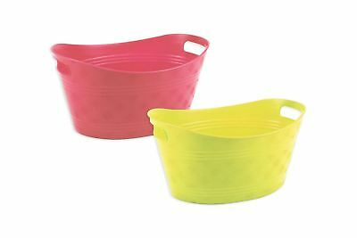 Ice Buckets Pack of 2 Bello Outdoor Party BBQ Summer Party Drinks Barware