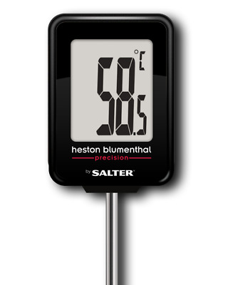Heston Blumenthal Digital Kitchen Thermometer for Meat, BBQ, Baking by Salter