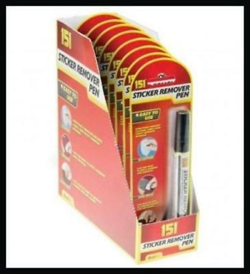 Sticker Remover Pen Sticky Stuff Adhesive Removal Label Price Tag Goo Is Gone!