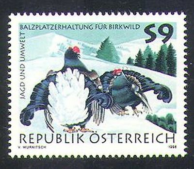 Austria 1998 Grouse/Birds/Nature/Hunting/Environment/Conservation 1v (n37644)