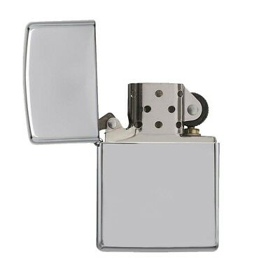 NEW Zippo Z250 Classic Windproof Lighter High Polish Chrome Finish Regular Size