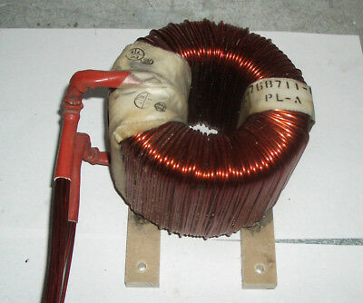 heavy duty 100+ amp filter toroid core choke reactor coil .35 mH