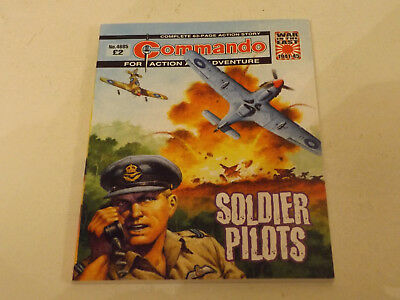 Commando War Comic Number 4685,2014 Issue,v Good For Age,03 Years Old,very Rare.