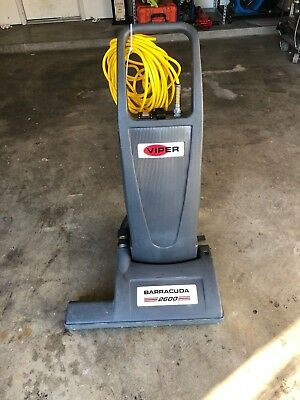 NICE! Viper Barracuda 2600 Vacuum Cleaner 26 Inch Dual Motor Upright, CUDA26