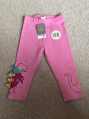 Next Girls Leggings Size 12-18 Months BNWT