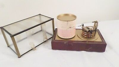 Vintage Encased Barograph Calendar Made in Germany