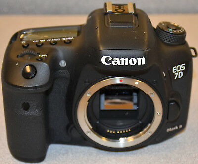 *AS-IS* Canon EOS 7D Mark II 20.2MP Digital SLR Camera (Body Only) - Black