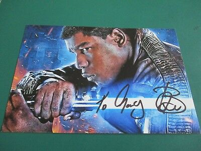 Finn From Star Wars Hand Signed Photo
