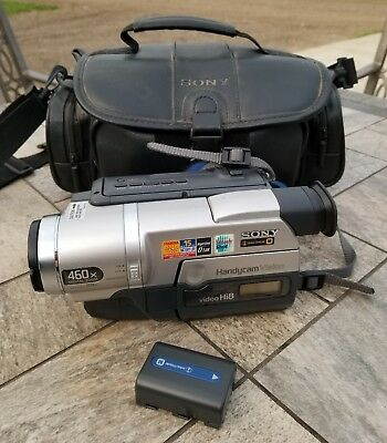 Sony Handycam CCD-TRV308 Hi-8 Video Camera Recorder-Mint Condition