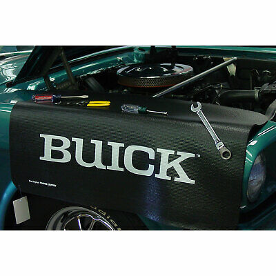 "Buick Name Fender Grip Cover 22"" x 34"" non-slip material"