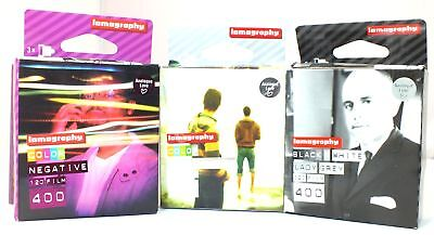 Job Lot of 3 x Boxes of EXPIRED SEALED LOMOGRAPHY 120 Film - C68