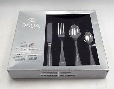 24 Piece DALIA Stainless Steel Cutlery Set - BOXED - T14