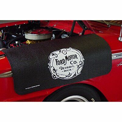 "Ford Motor Company Logo Fender Grip Cover 22"" x 34"" non-slip material"