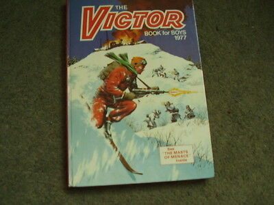 The Victor book for Boys 1977. Very Good condition.