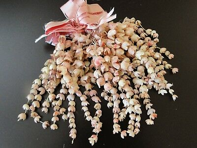 Antique Ribbons,floral Rosettes-Pretty Lily Of The Valley Hanging Corsage