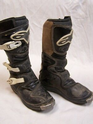 Youth Alpine star tech Motocross MX Racing boots - Size 2