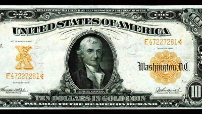$10 1907 Gold Certificate ** More Currency For Sale **