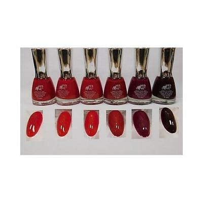 Lot De 6 Vernis A Ongles - Degrade De Rouge - YES LOVE 15 ml - Port 0€ - 485