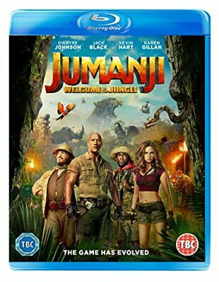 Jumanji: Welcome To The Jungle [Blu-ray] [2017] - DVD  8NVG The Cheap Fast Free