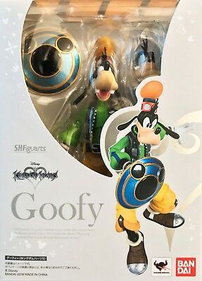 S.H.Figuarts Goofy Kingdom Hearts II Action Figure Bandai NEW AUTHENTIC IN STOCK