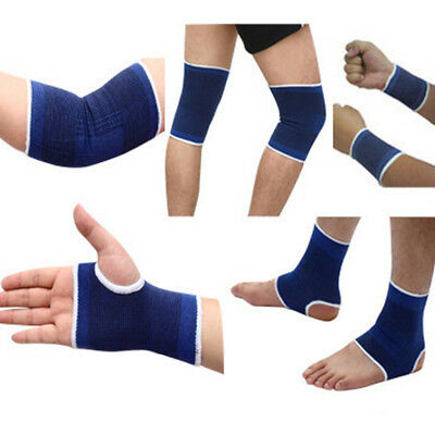 2pcs Wrist/Elbow/Knee/Ankle Elastic Strain Strap Compression Support Protector
