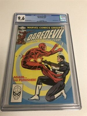 Daredevil #183 Cgc 9.6 White Pages Punisher Appearance