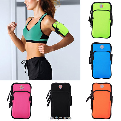 US Sports Armband Case Cover Running Jogging Arm Band Pouch Holder Bag For Phone