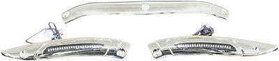 Custom Dynamics LED Dynamic Windshield Trim Chrome CD-RG-WT-13-C