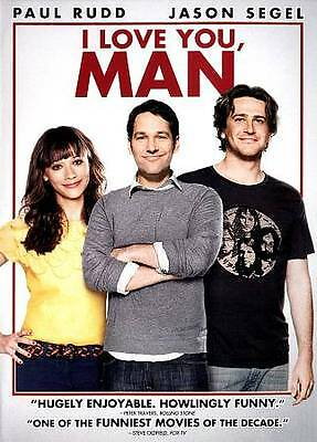 I Love You, Man (DVD, 2013) - NEW!!