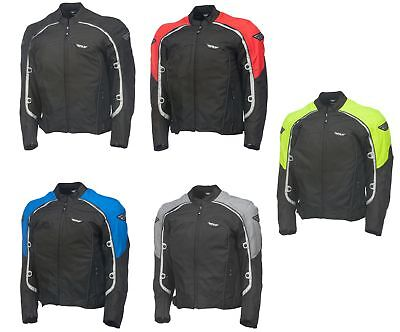 Fly Racing 2016 Butane 4 Textile Motorcycle Jacket All Colors Size S-4XL