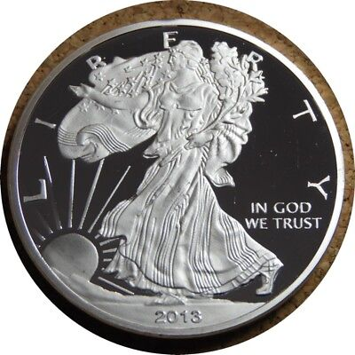 elf  Dollar Silver Eagle 2013 W Proof